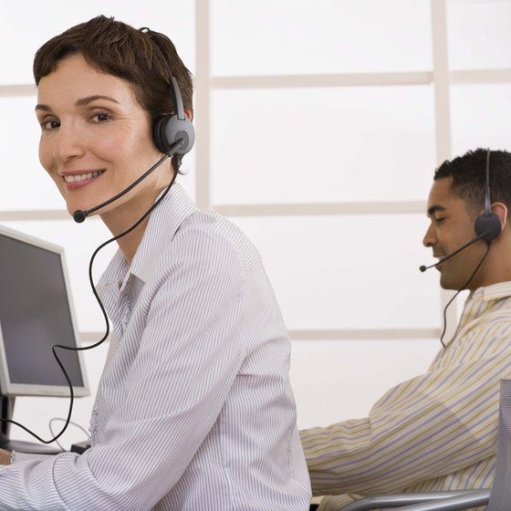 Adding a headset and microphone combo to your computer allows you to make telephone calls and conduct remote business meetings.