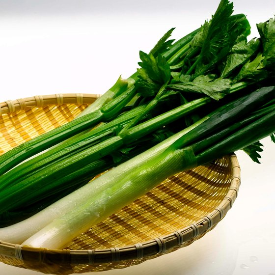Celery might help prevent ulcers.