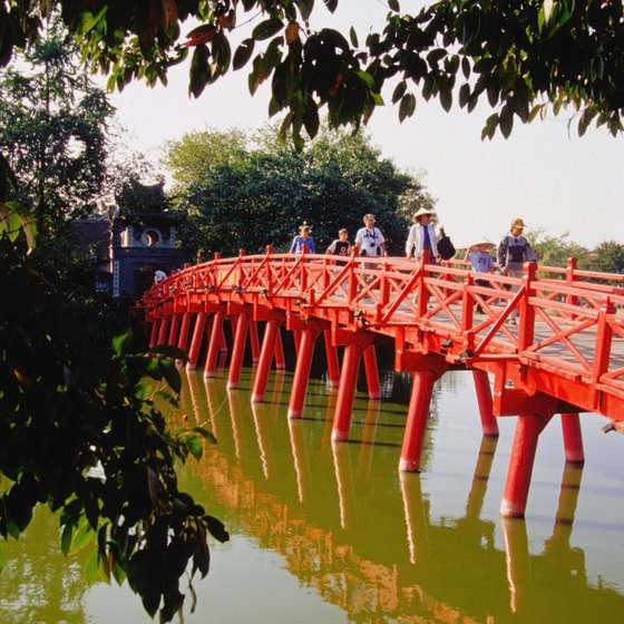 The cool, dry months are the best times to visit picturesque Hanoi.