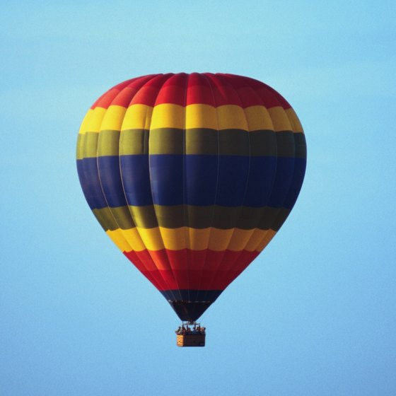 A hot-air balloon ride is a classic Albuquerque adventure.