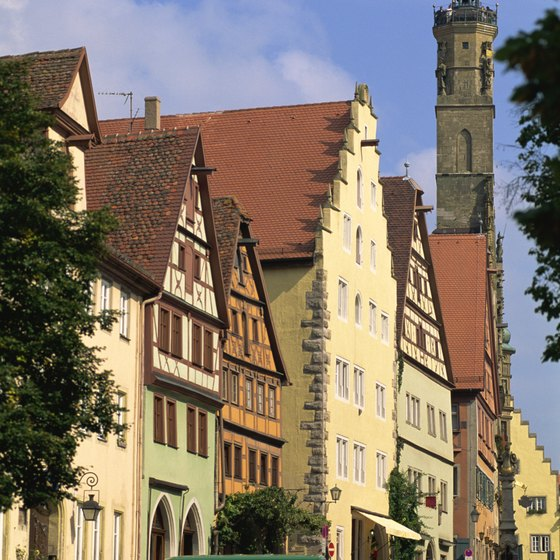 Rothenburg retains the atmosphere and charm of the Middle Ages.