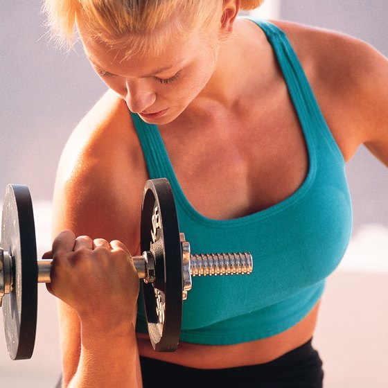Use dumbbells for more than just strength workouts.