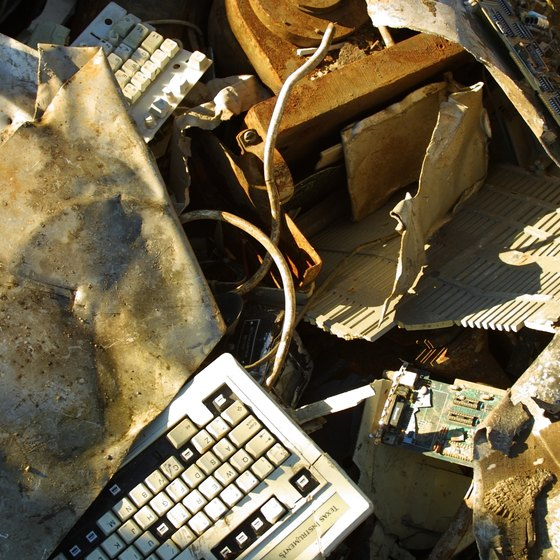 Recycling electronics is key to keeping certain hazardous materials out of landfills.