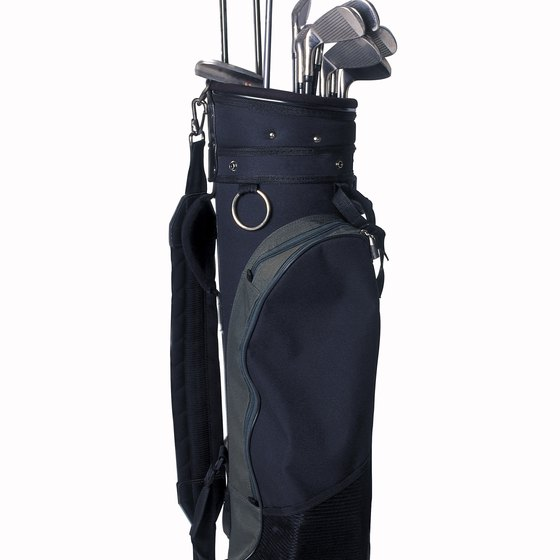Arranging the clubs in your golf bag helps you focus on your play.