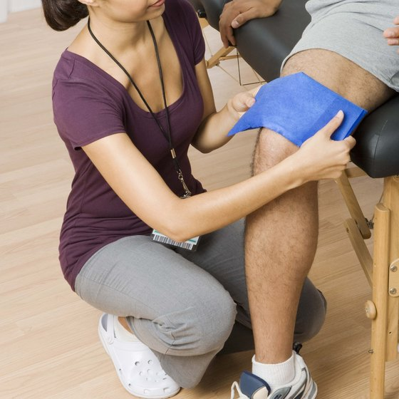 Quad contractions are often recommended following a knee injury.