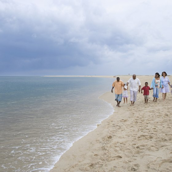 Grand Bend's main attraction is 30 continuous miles of white sand beach.