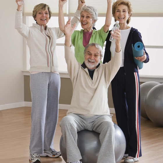 Regular exercise for people over 50 improves fitness and elevates mood.
