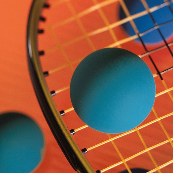 Racquetball is a fast-paced racket sport that requires skills and strategy.