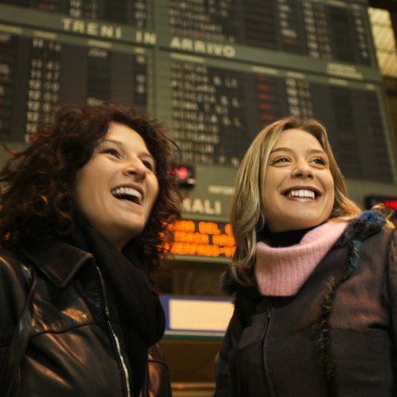 You can travel to Milan and other Italian cities by train from Amsterdam.