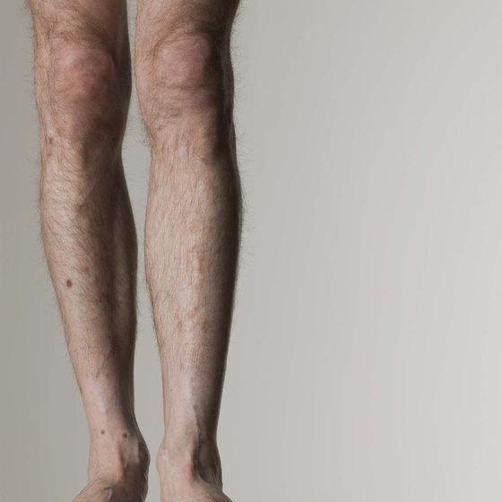 It's generally easier for men to slim their thighs than it is for women.