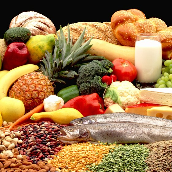 A Mediterranean diet is rich in fruits, veggies, nuts, whole grains, olive oil and fish.