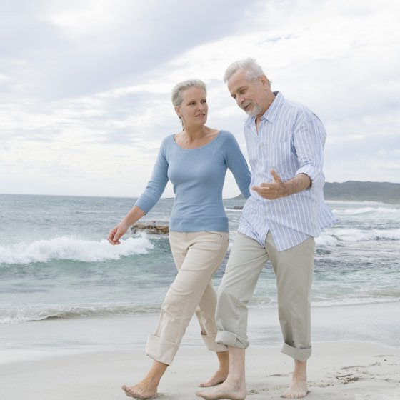 Exercise after joint replacement can reduce pain and improve balance.
