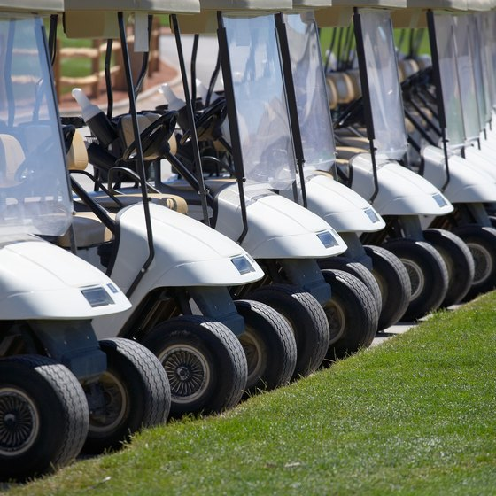 Unlike automobile tires, which use the P-Metric style, golf carts use inch measurements.