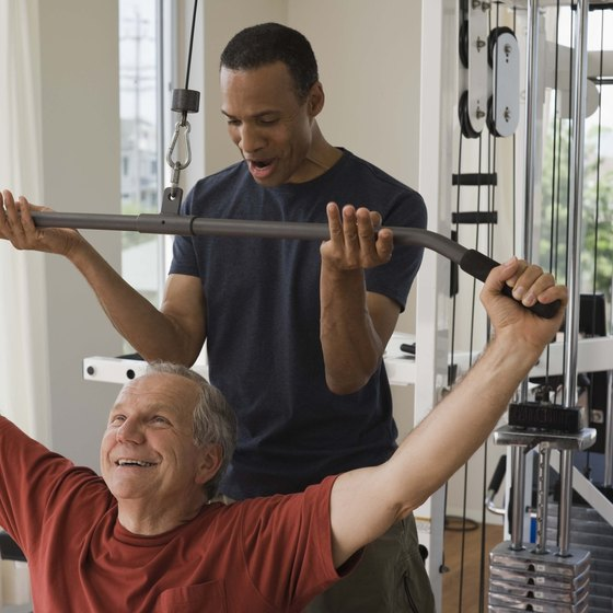 Personal trainers help others get fit and healthy.