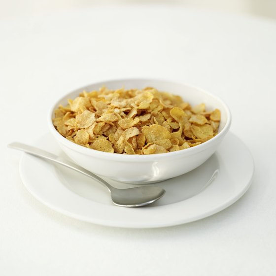 Fortified cereals can provide all of your B-12 in a single bowl.