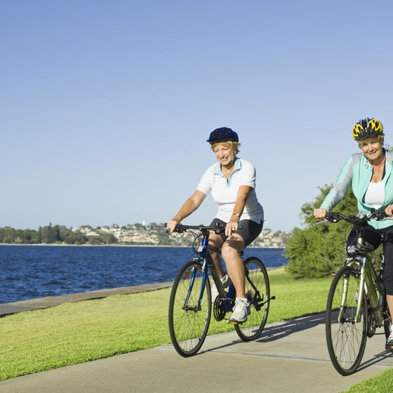 Bicycling with a partner provides extra motivation