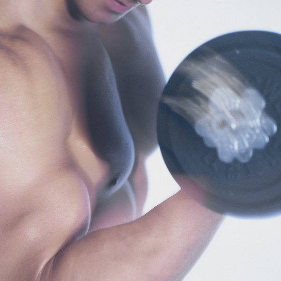 Experienced bodybuilders work out six times a week.