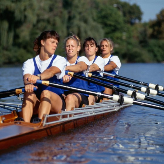 Rowing is an enjoyable pastime and a form of exercise.