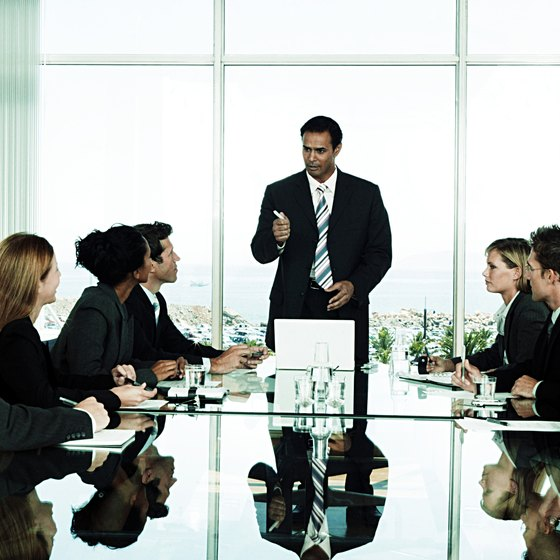 The board of directors is responsible for the governance of a corporation.