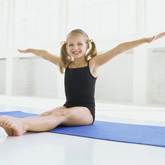 Mats come in all shapes and sizes to help kids achieve their gymnastics goals.