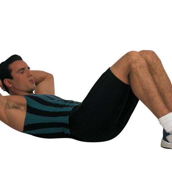 Crunches target only the superficial muscles of the abdomen.