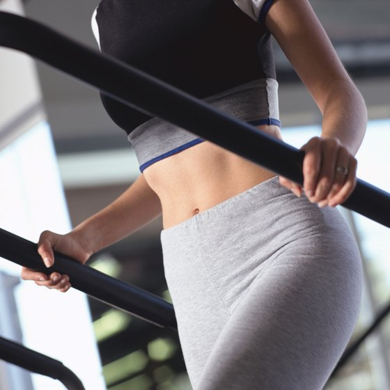 A stairmill workout strengthens your lower-body muscles.