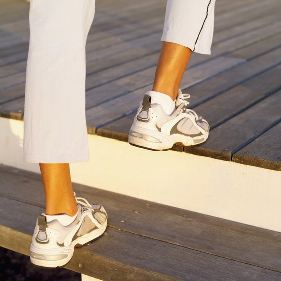 Walking up stairs is one activity that works your hip flexor muscles.