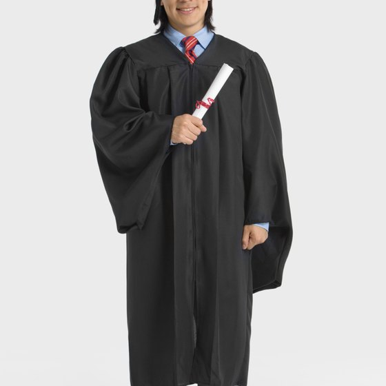 Semiotics can communicate an entirely different meaning to a picture of a graduate holding his diploma.