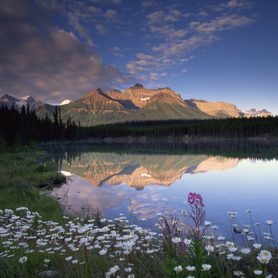 Trade in a steamy Texas summer for the cool lakes of Banff National Park in Alberta.