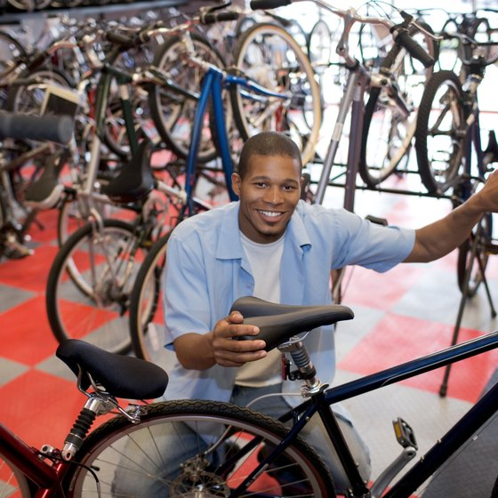 Your local bike shop can help you choose the best material for your riding habits.