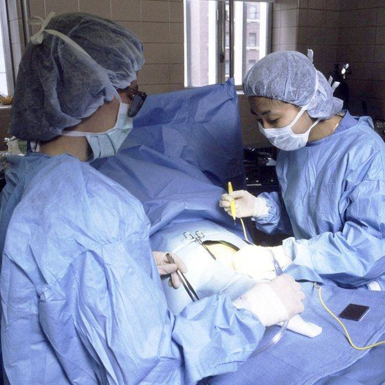 A C-section is considered major surgery.