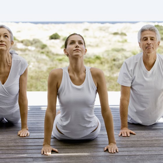 Yoga is an exercise for all ages that provides your body with strength training and relaxation.