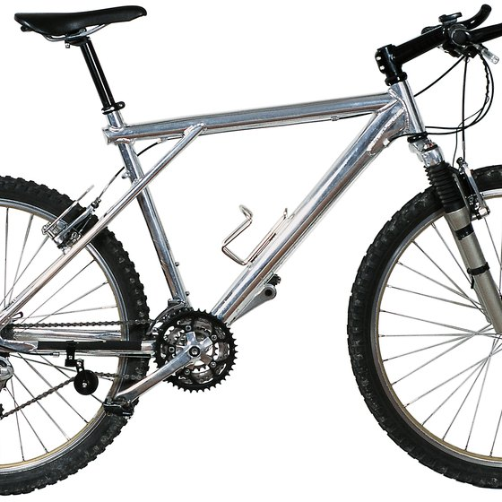 Hardtail, aluminum frames are widely used.