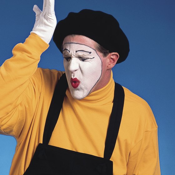 There's no law against ex-cons working as mimes.