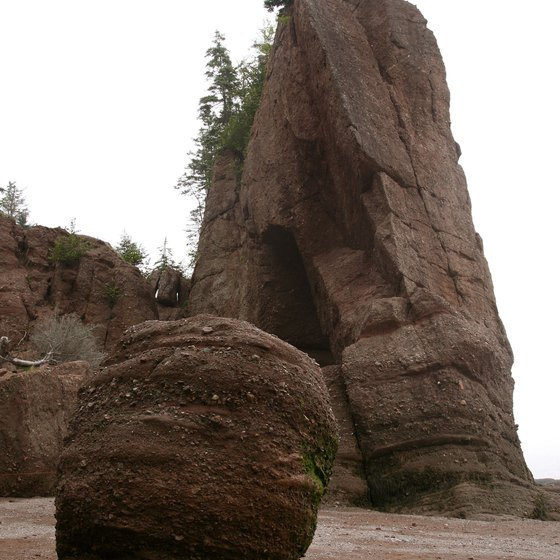 A rugged coastline is one of New Brunswick's attractions.