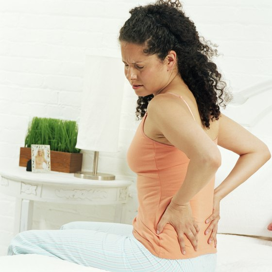 Lessen your chances for low back pain by stretching regularly.