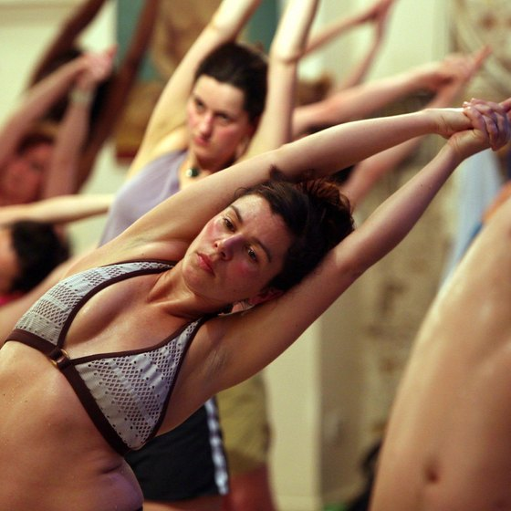 Bikram yoga is unique because it is performed in a heated room.