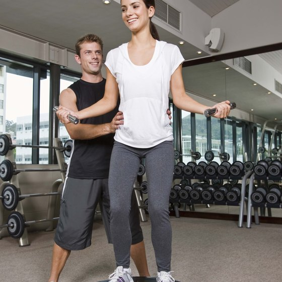 BOSU Balance Trainers help develop core strength and balance while you exercise.