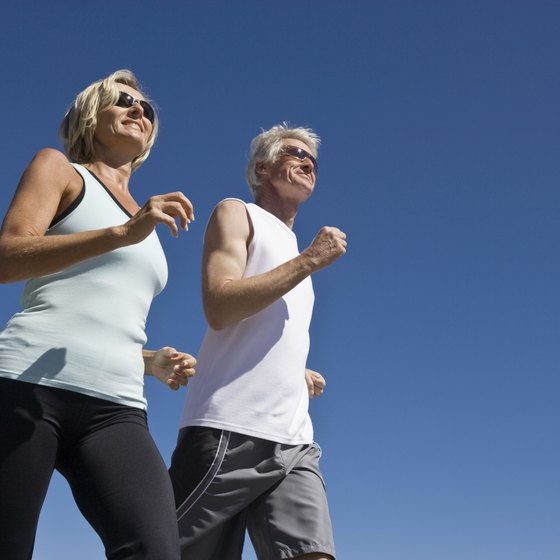 Organizing a lunchtime walking group helps your employees stay active.