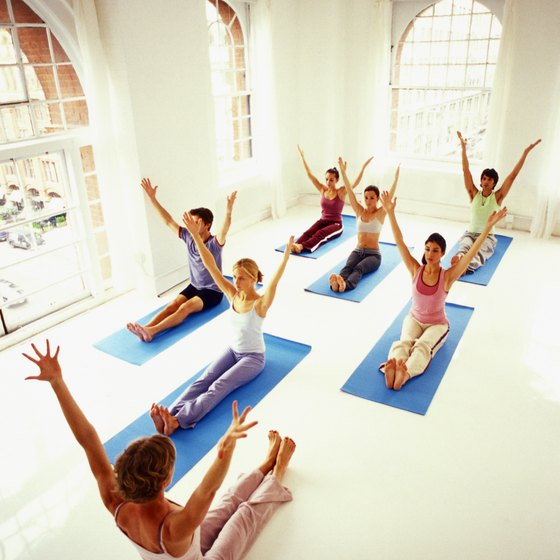A power yoga class will test your fitness and get your heart pumping.