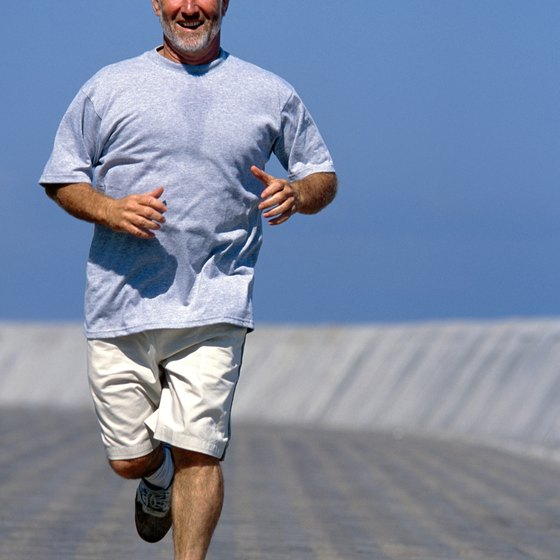 Some knee-replacement patients can engage in high-impact running.