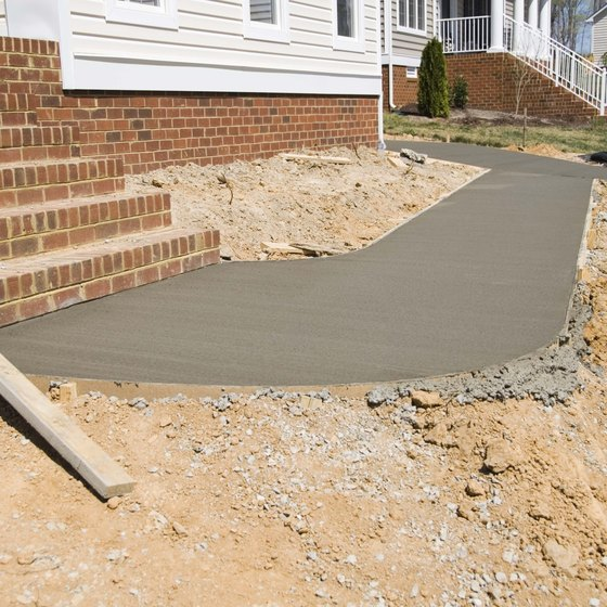 Use advertising to focus on your company's competence in concrete laying skills.