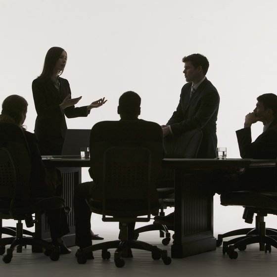 Communicating in a meeting requires different skills than interpersonal conversation.