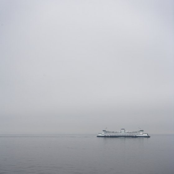 Two ferry routes connect Whidbey Island with the mainland and the Olympic Peninsula.