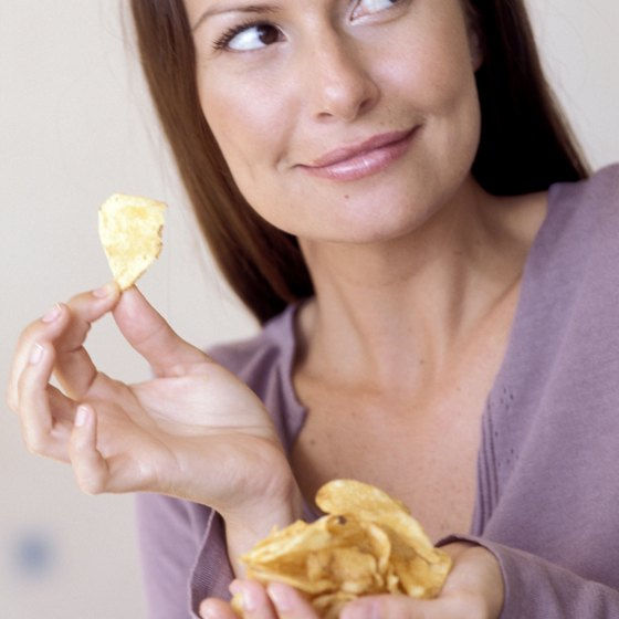 Sour cream and onion chips offer some nutrients, but you should consume them in moderation.