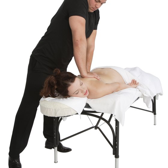 A professional massage can boost blood flow, loosen muscles and reduce inflammation.
