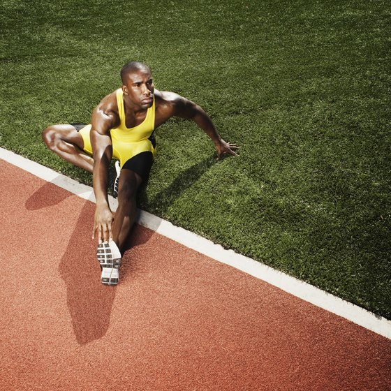 For sprinters, stretching is an effective habit that should be included in every workout.