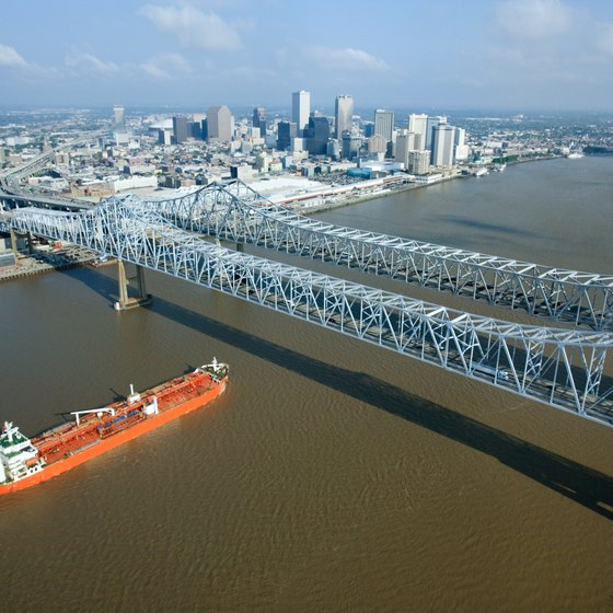 Seven cruise operators are based in the Port of New Orleans.