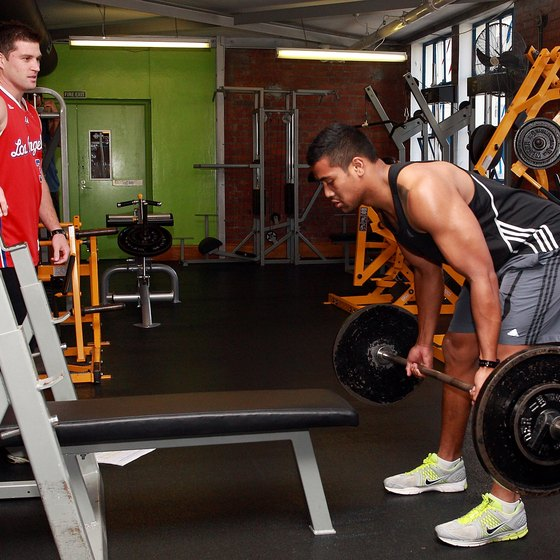 Include rack pulls and deadlifts in your program for best results.