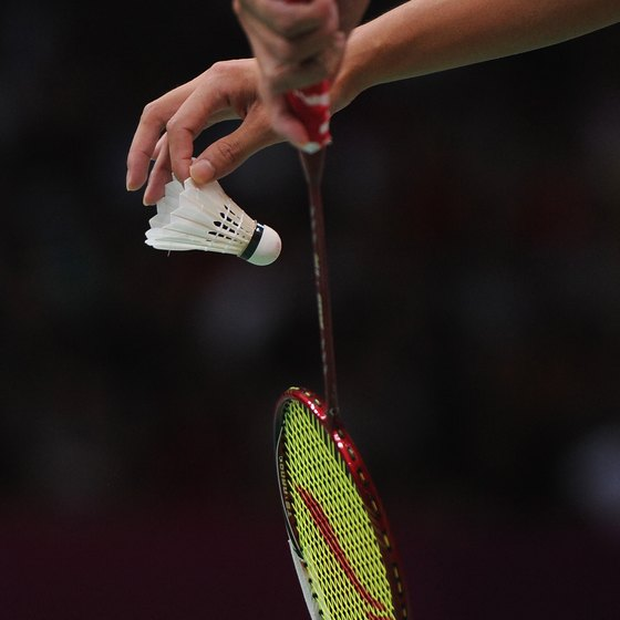 Badminton rules help maintain order during a match.